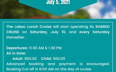 Loboc River Cruise Advisory